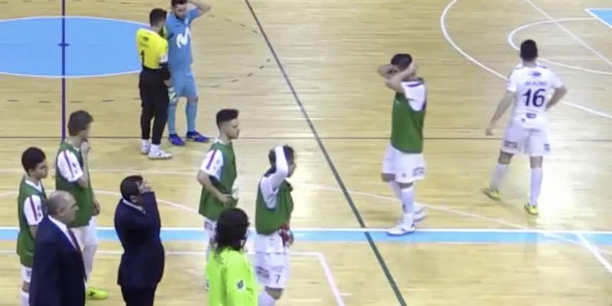 Utilero murió durante partido de Futsal entre Movistar Inter y Naturpellet