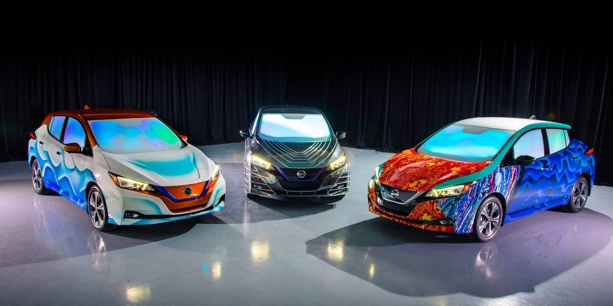 """El nuevo Nissan LEAF se transforma para la premier de la película """"A Wrinkle in Time"""""""