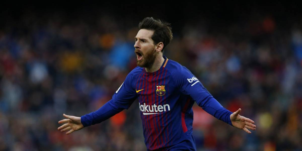 Otra genialidad de Messi acerca al Barça al título liguero