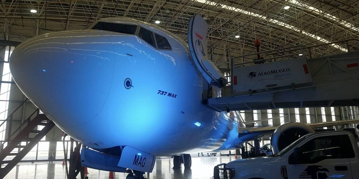 Este el nuevo avión de Aeroméxico y que hará más confortable tu viaje