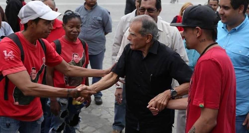 Oscar López en Venezuela