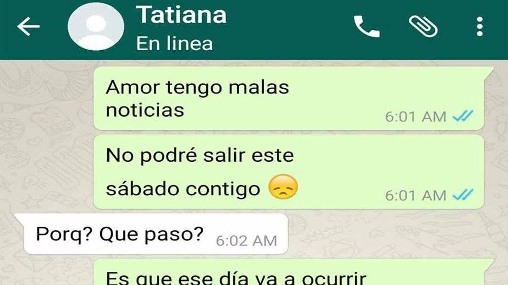 WhatsApp: Cancela cita con su novia para ver final de Dragon Ball Super