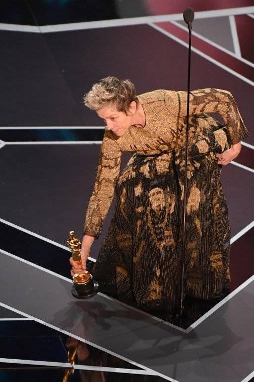 Frances McDormand discurso Oscar 2018