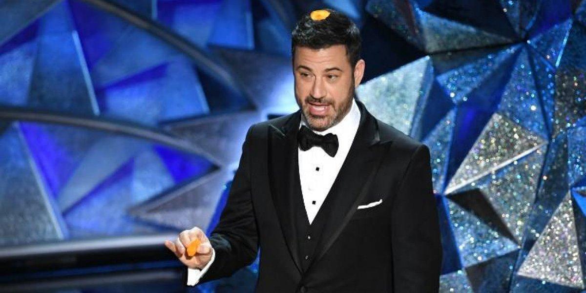 Jimmy Kimmel y otros famosos se cuelan en un cine durante los Oscar 2018