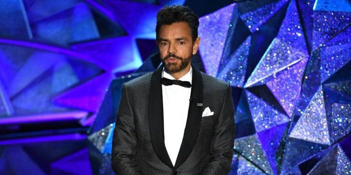 La broma que hizo Eugenio Derbez en los Oscar que a nadie le causó gracia