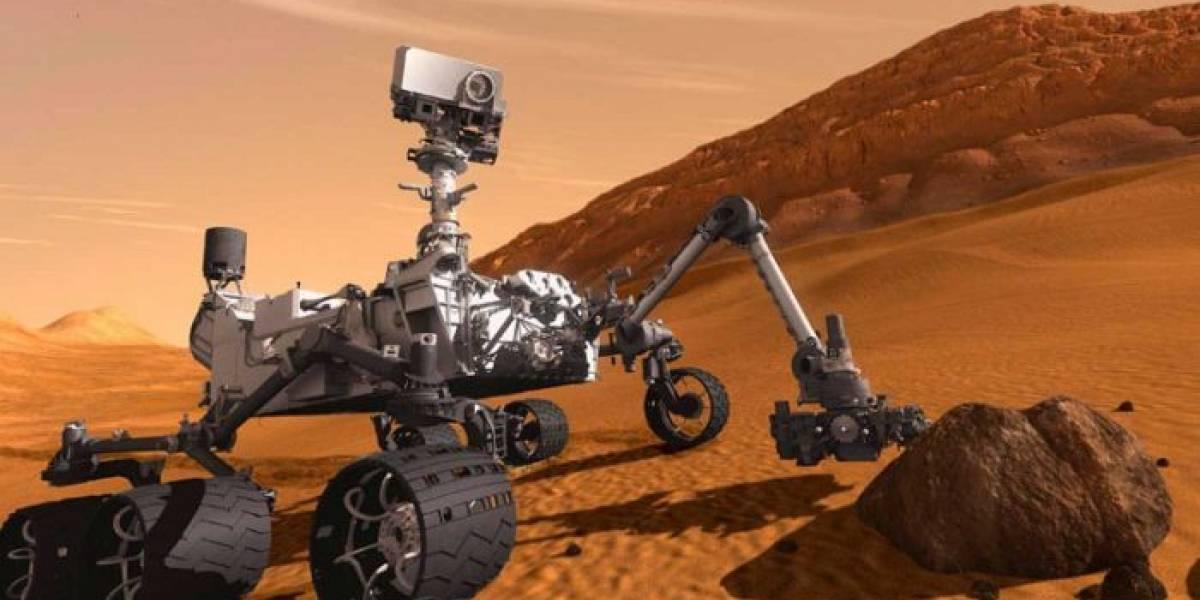 El rover de la NASA en Marte volvió a taladrar