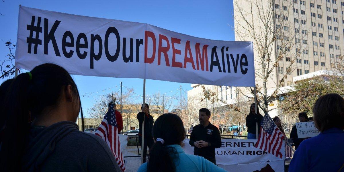 2.7 millones de futuros dreamers 'sin esperanza' por cancelación del DACA
