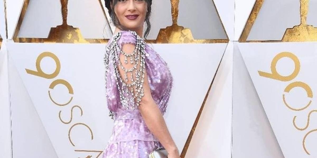 Los mejores memes del vestido de Salma Hayek