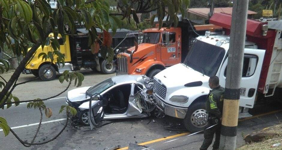 Accidente en Copacabana