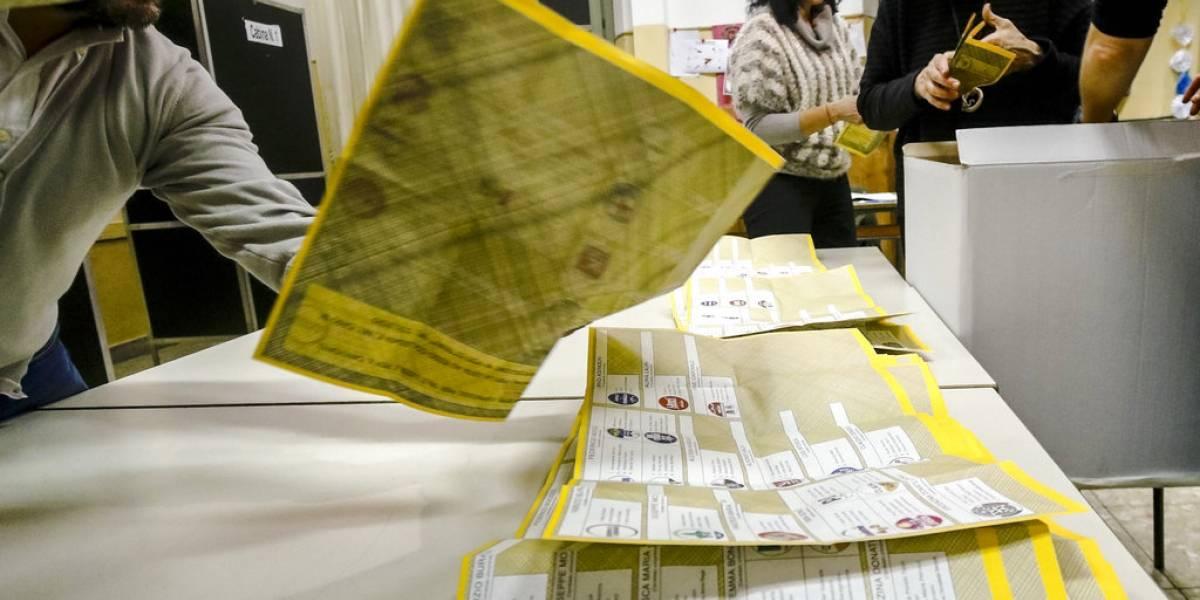Movimiento 5 Estrellas se perfila como ganador en elección italiana