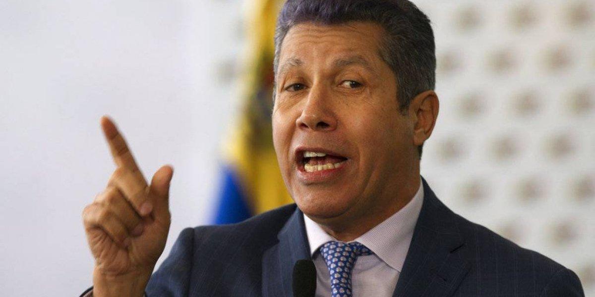 Candidato híbrido aviva campaña en Venezuela