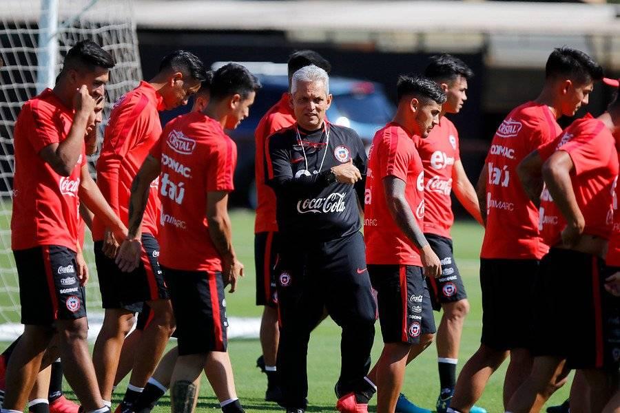 Rueda le dijo a los jugadores de Chile que