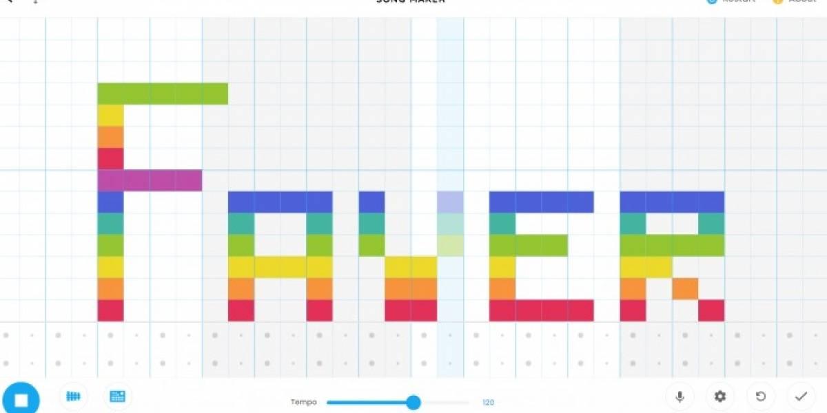 Song Maker: así puedes crear tu propia música desde Google Chrome