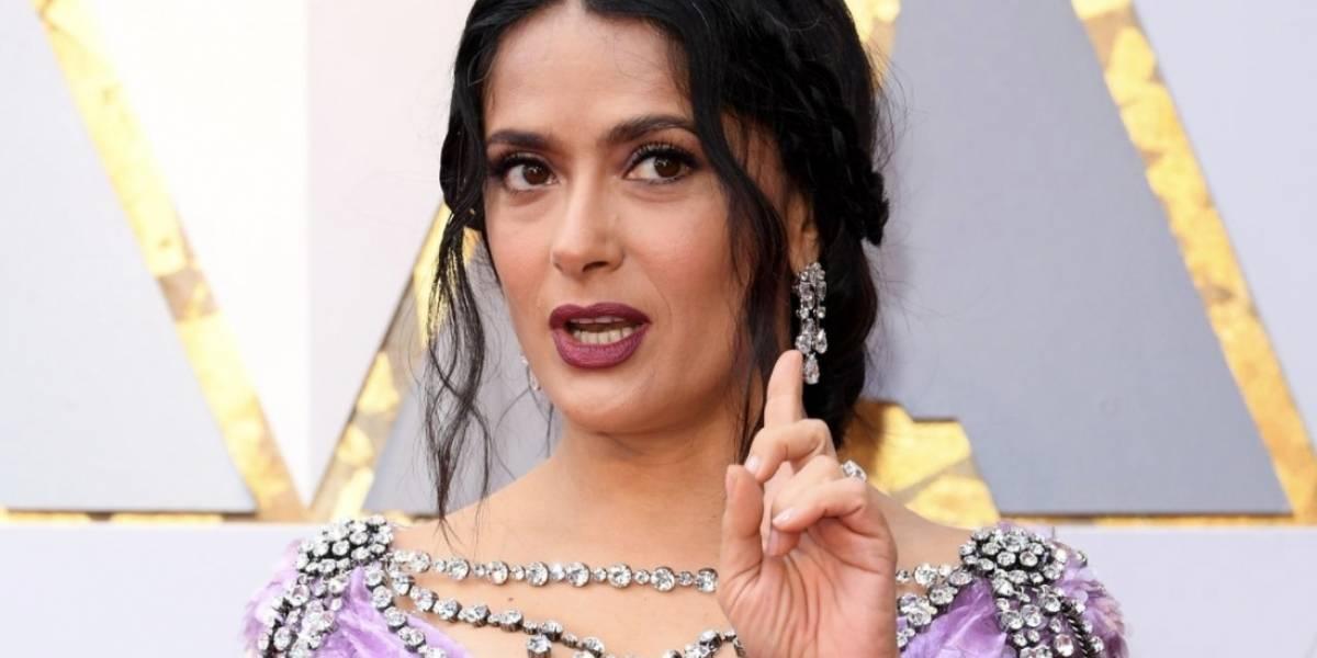 Salma Hayek y el mensaje que empoderó al Oscar 2018