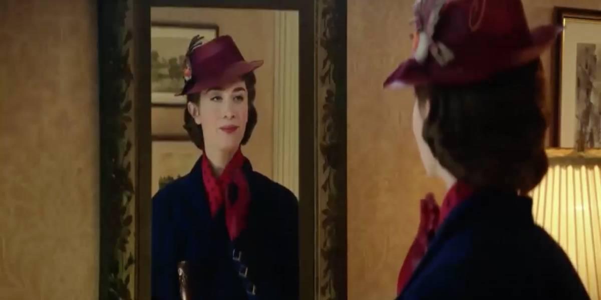 """Disney sorprende con increíble tráiler de """"El regreso de Mary Poppins"""""""