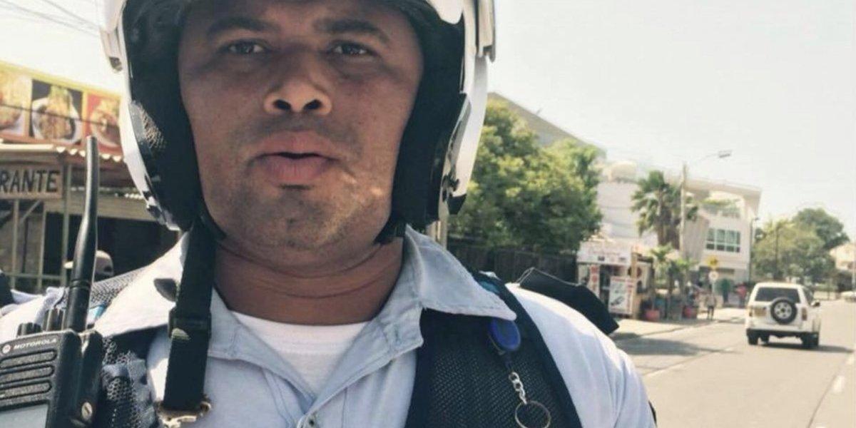 Agente de tránsito en Cartagena mostraba con orgullo su trabajo en Facebook, pero fue capturado por corrupción