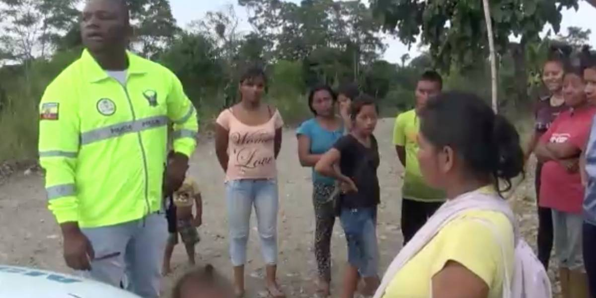 Niño extraviado en Nueva Loja fue encontrado y devuelto a sus familiares