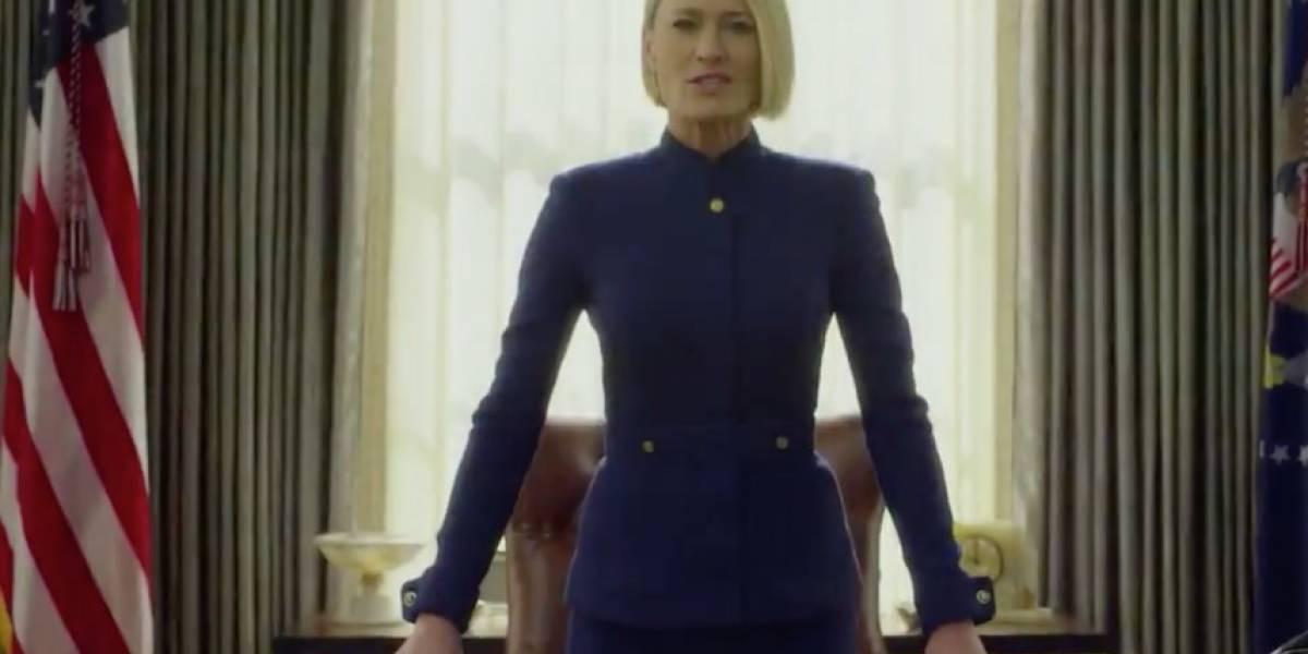 """""""Esto es solo el inicio"""": Claire Underwood protagoniza el adelanto de la sexta temporada de """"House of Cards"""""""