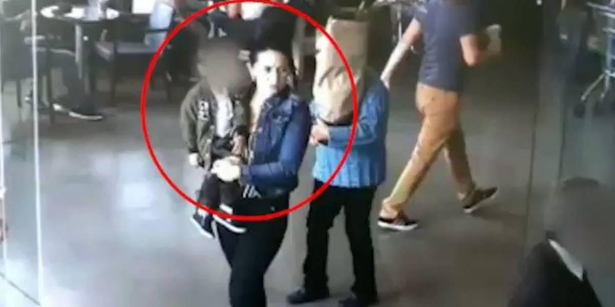 Video: Así utilizaba esta pareja de esposos a sus hijos para robar bancos en Bogotá