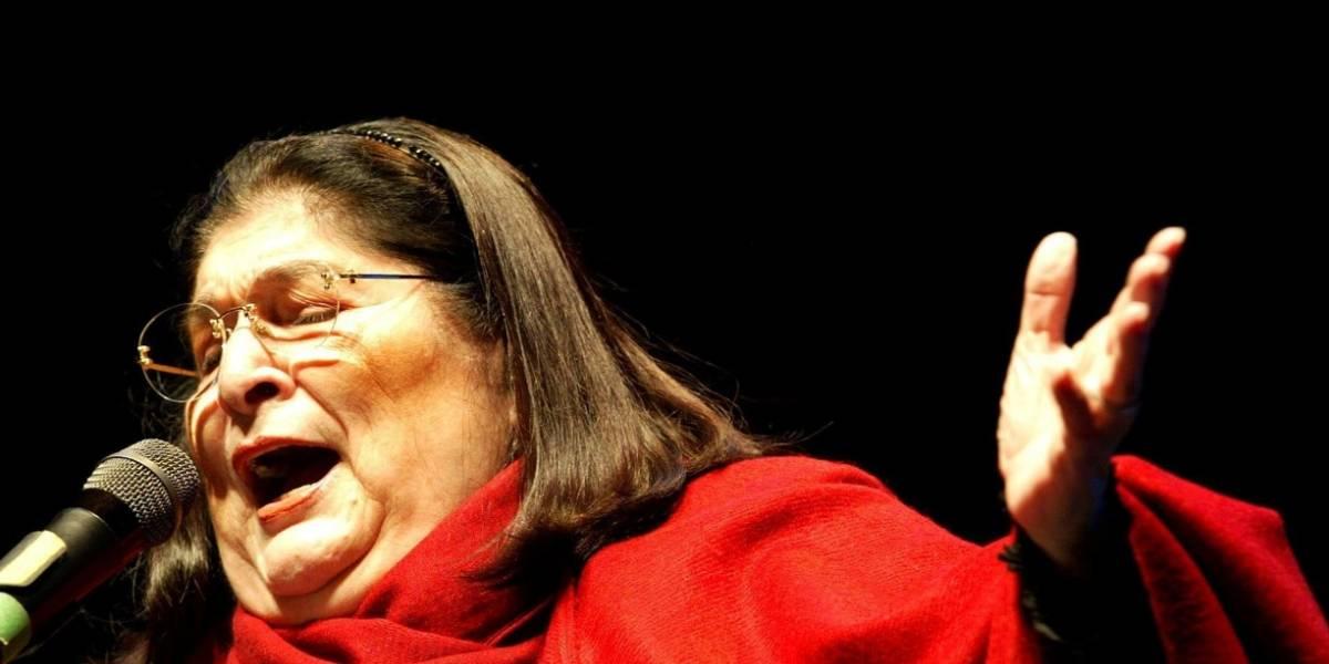 Homenaje a Mercedes Sosa se realizará en el Teatro Colsubsidio