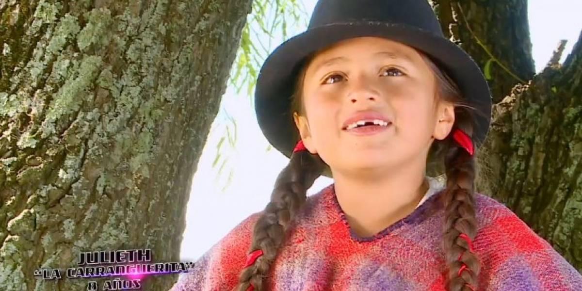 Niña campesina enamoró a los televidentes de 'La voz kids'