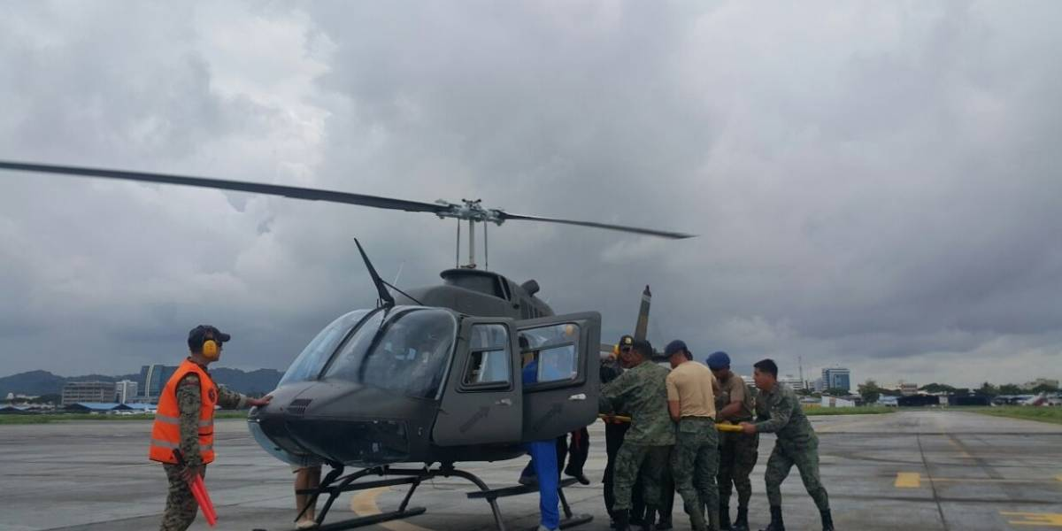 Accidente de avioneta en el sector de la isla Matorillo