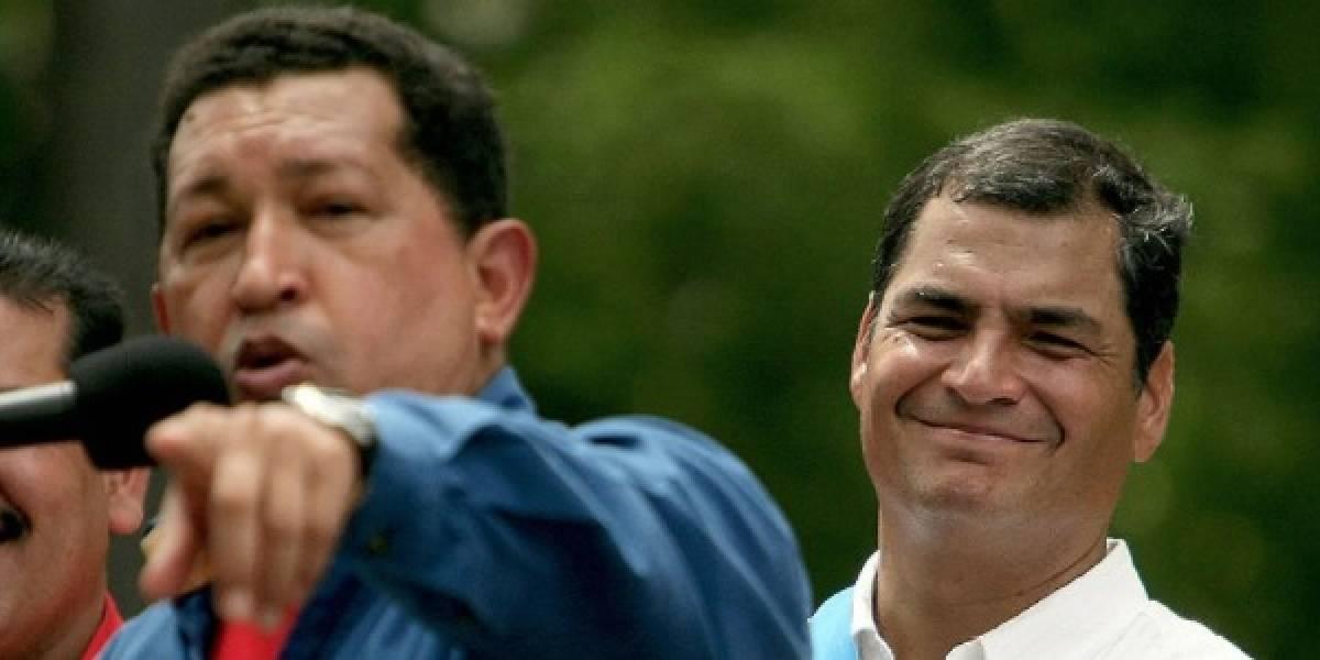 Rafael Correa habló de Hugo Chávez: Amigo e indiscutible líder