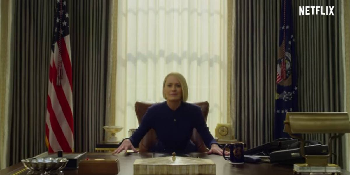 Trailer da temporada final de 'House of Cards' traz Claire como presidente