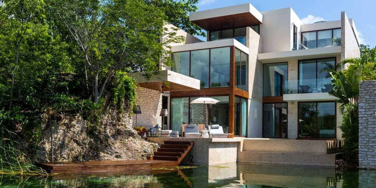 El lujo y la naturaleza se mezclan en estas residencias de Playa del Carmen