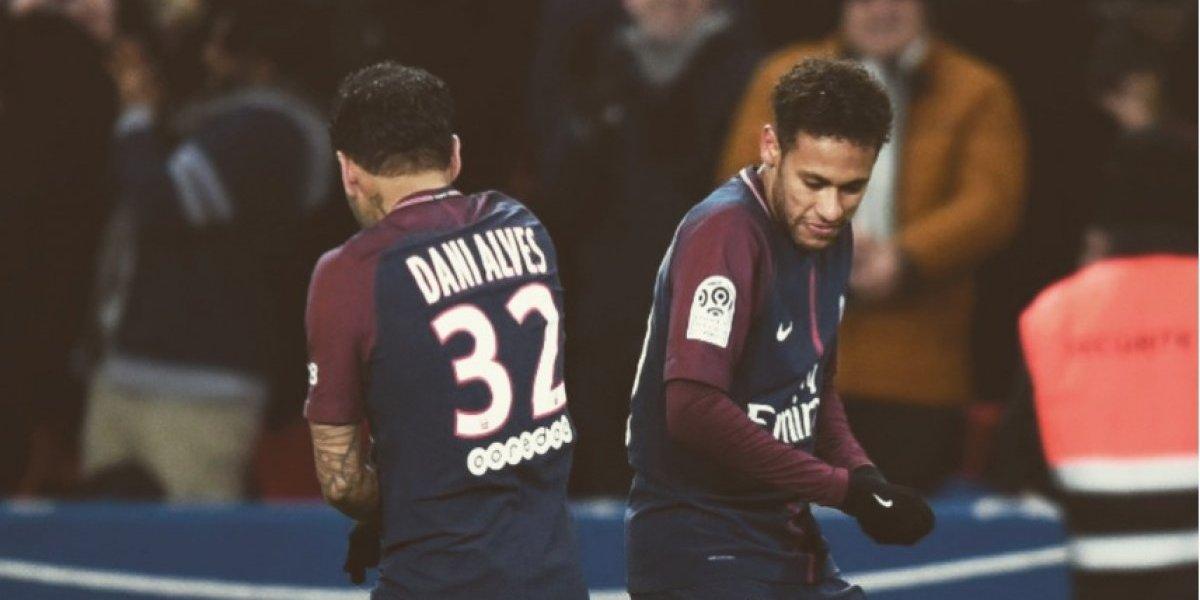 Dani Alves revela el pacto que hizo con Neymar por la Champions