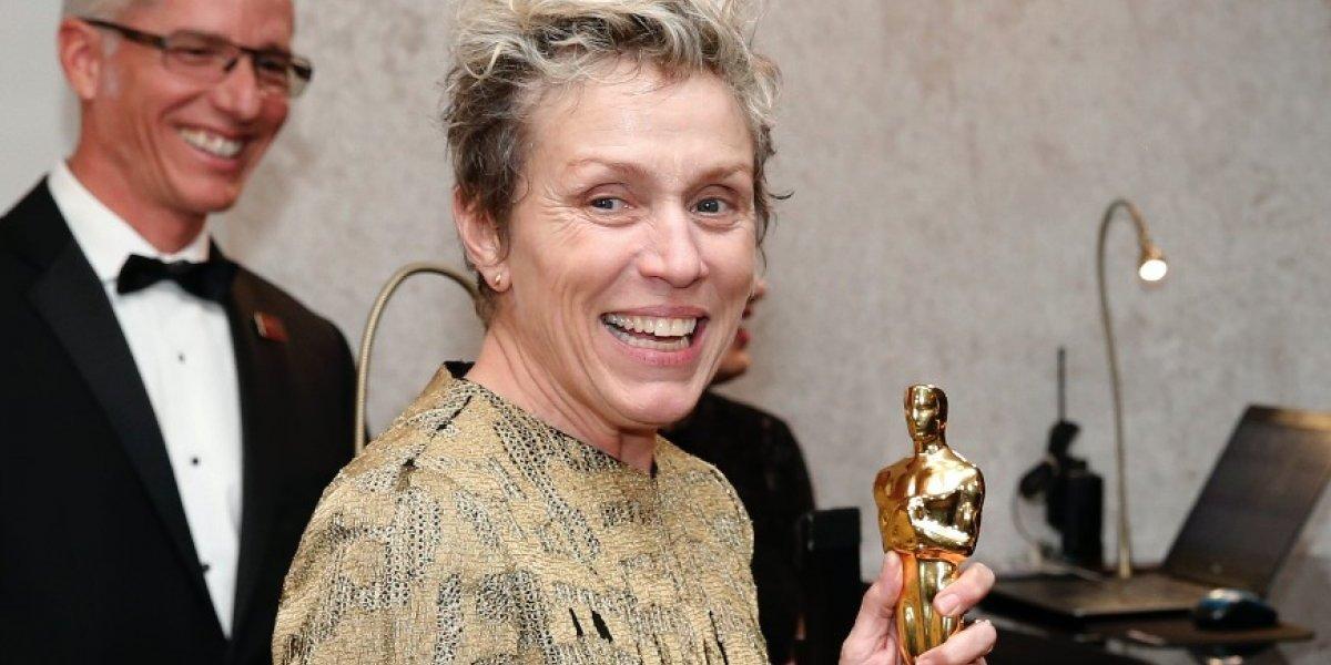 Roban estatuilla del Óscar a la actriz Frances McDormand