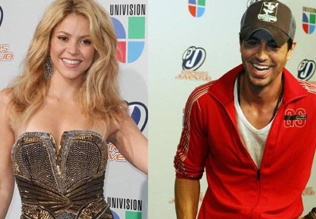 Shakira y Enrique iglesia