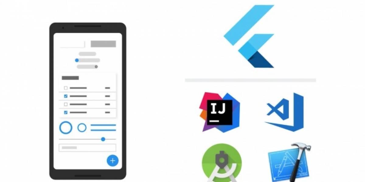 Google lanza la beta de Flutter, su entorno de desarrollo de aplicaciones móviles