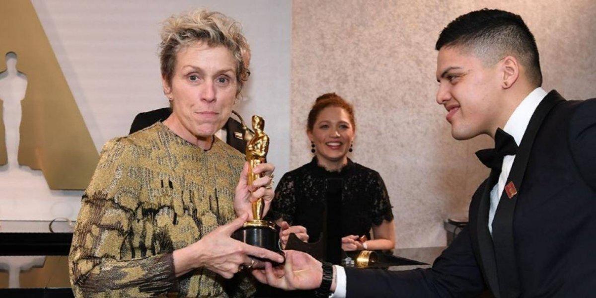 Roban estatuilla del Oscar que ganó Frances McDormand como Mejor Actriz