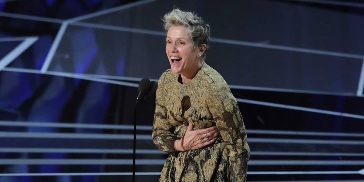 Oscar 2018: com discurso feminista, Frances McDormand leva prêmio de Melhor Atriz