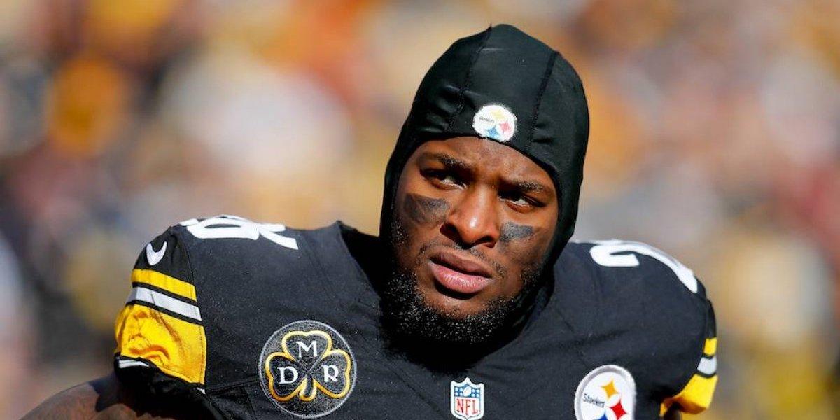 Le'Veon Bell será jugador franquicia de los Steelers
