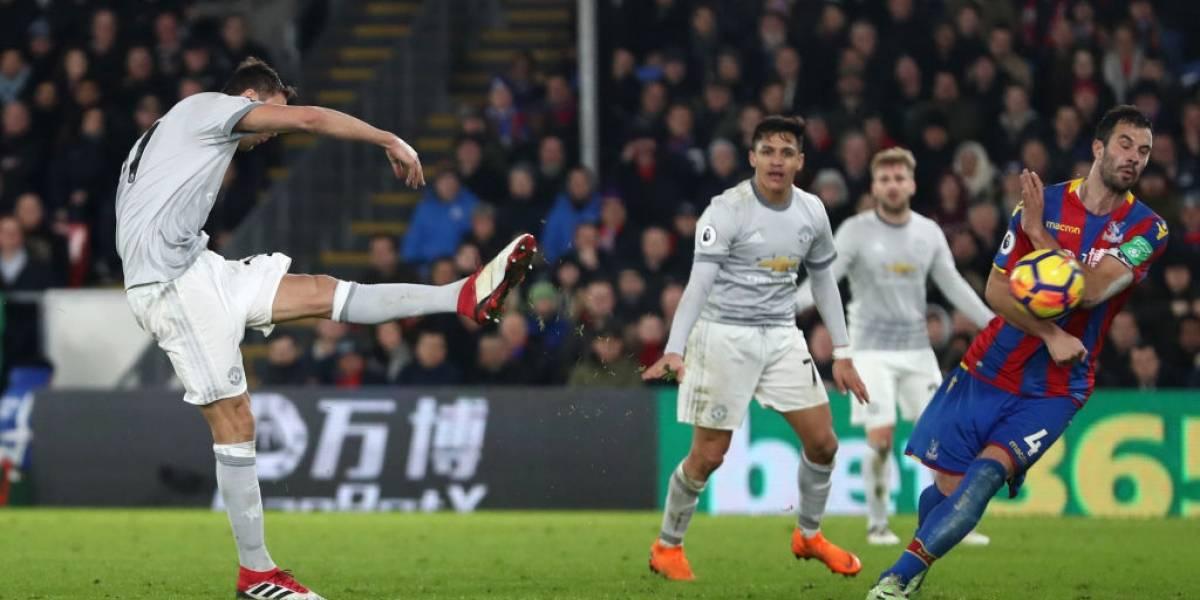 Manchester United demostró que tiene sangre con un Alexis al que se le niega el gol