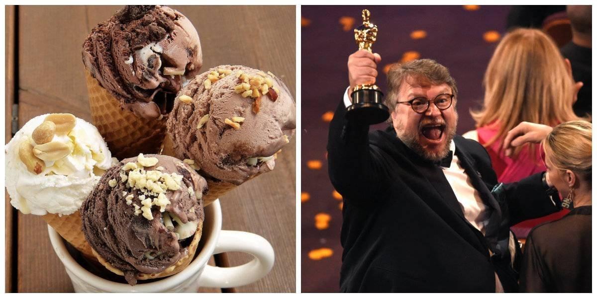 Regalan helados para celebrar Óscar de 'La Forma del Agua'