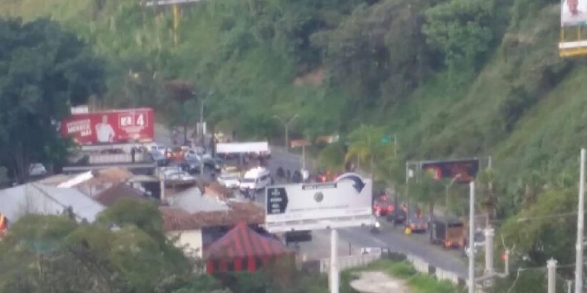 Video: sicarios mataron a dos personas en las Palmas