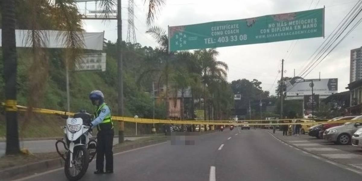 Se conoció la identidad del hombre acribillado en Medellín