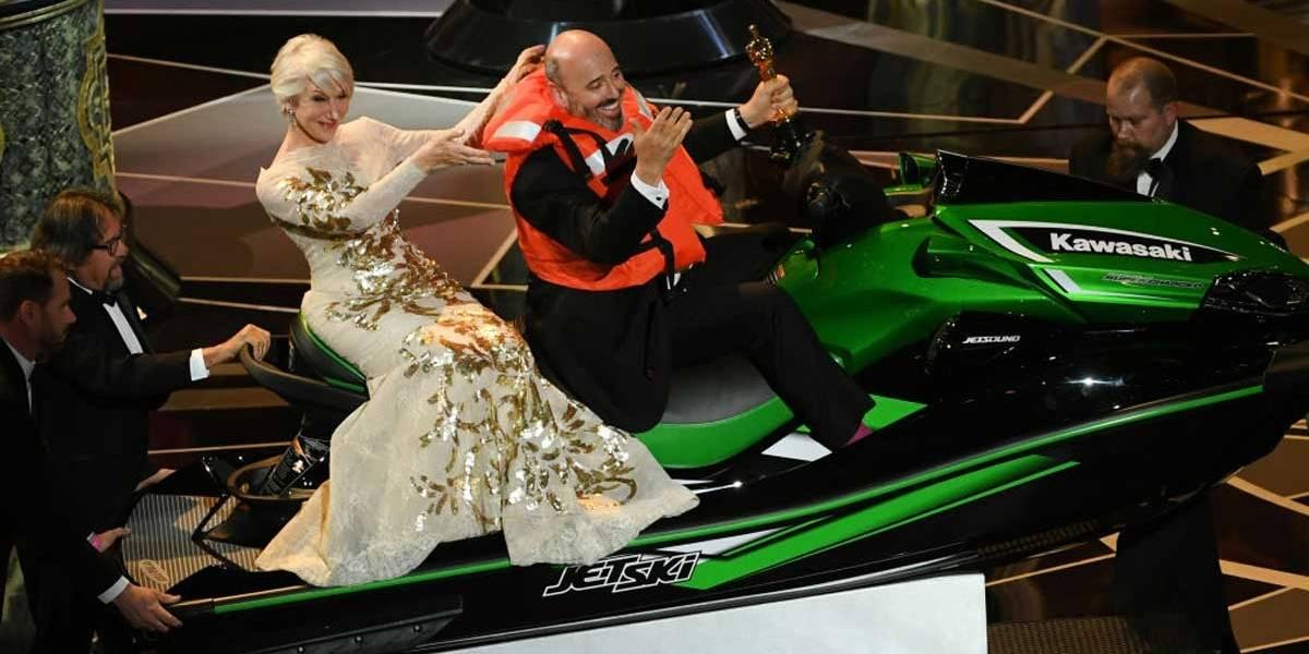 Oscar 2018: Afinal, quem ganhou o jet ski de Jimmy Kimmel?