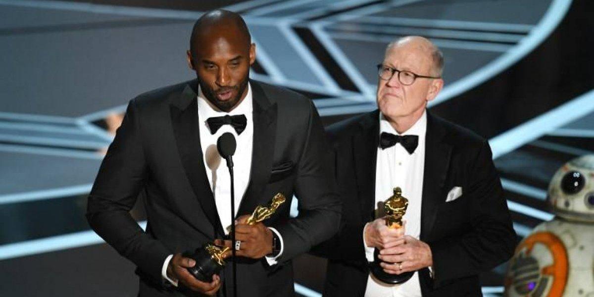 VIDEO. Kobe Bryant gana el Oscar a Mejor Corto de Animación