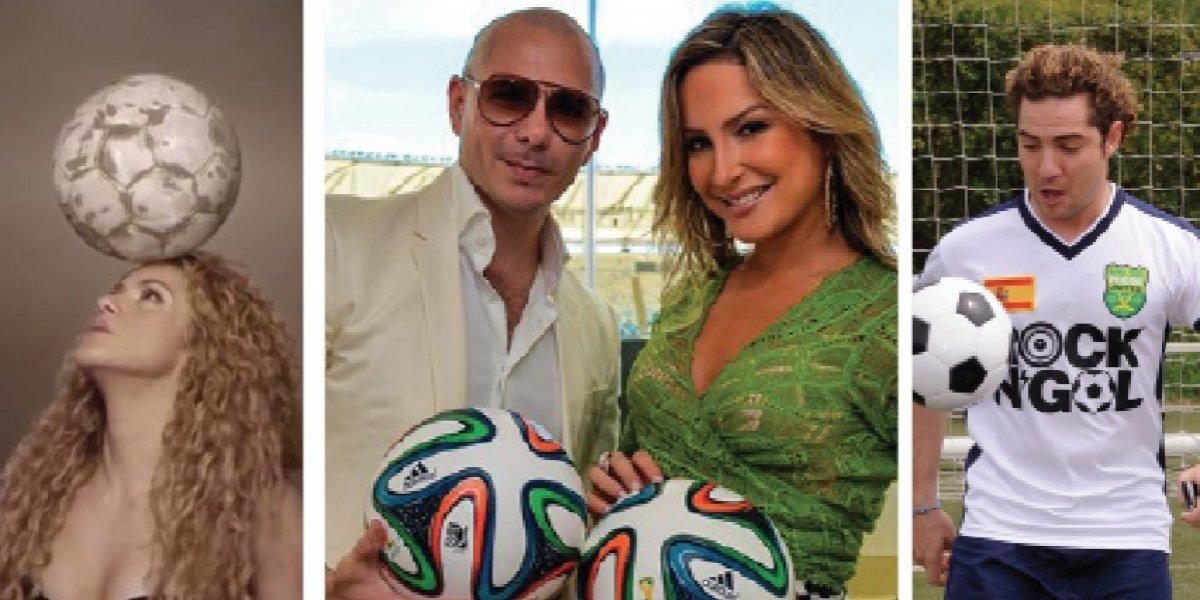La fuerza latina en la música de las copas mundiales de futbol