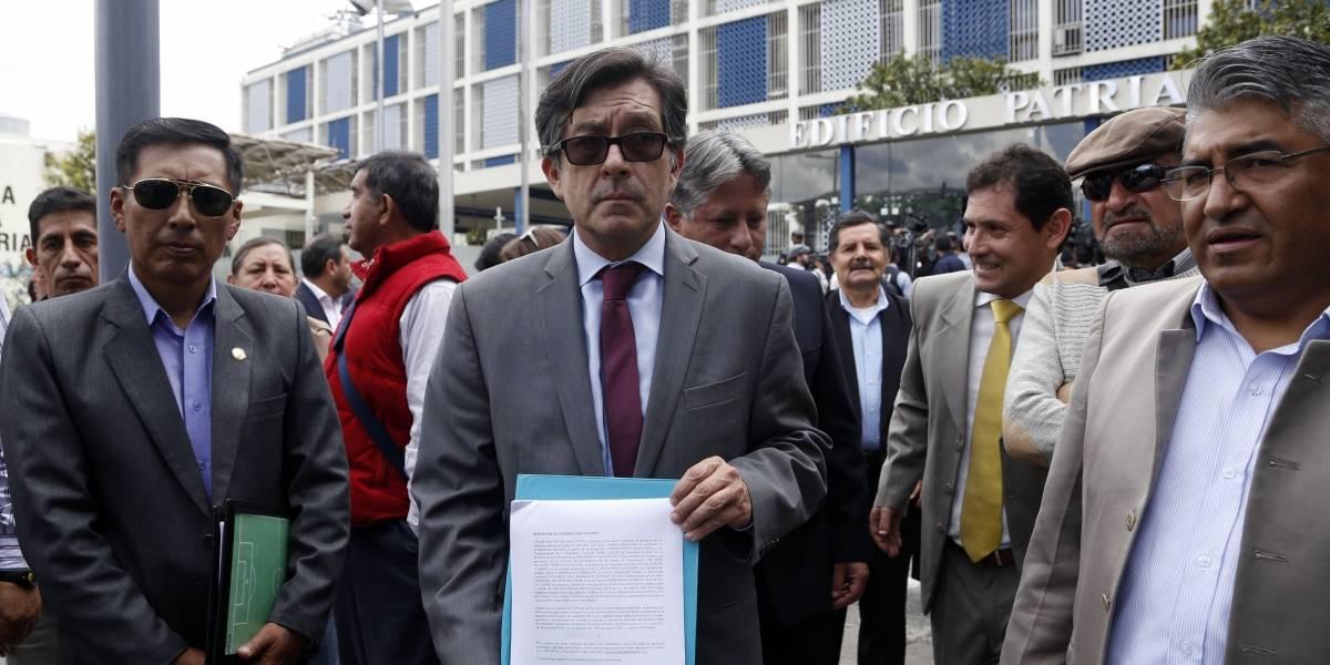 César Montúfar compareció en investigación contra Correa en el caso Odebrecht