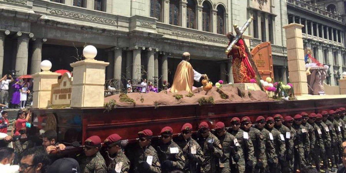 El nazareno de la Guardia de Honor saldrá en procesión este Cuarto Domingo de Cuaresma