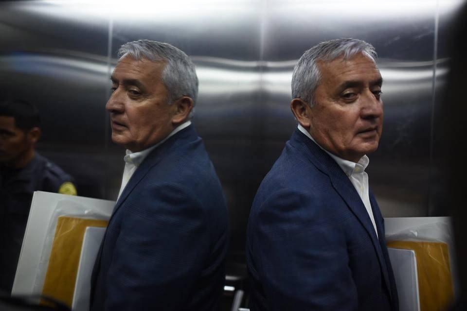Pérez Molina fue electo presidente por el cancelado Partido Patriota. Edwin Bercián
