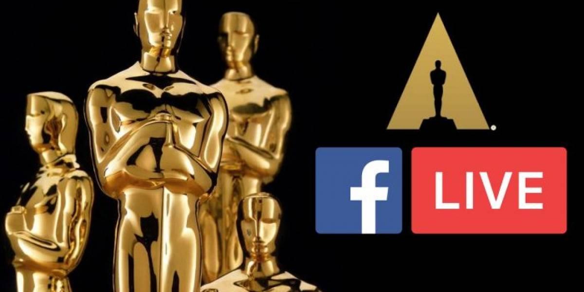 Facebook hará streaming de los Premios Oscar 2018