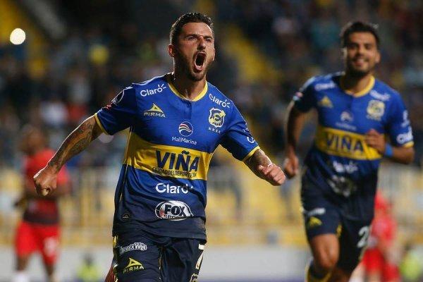 Everton quiere festejar en la Sudamericana / imagen: Photosport