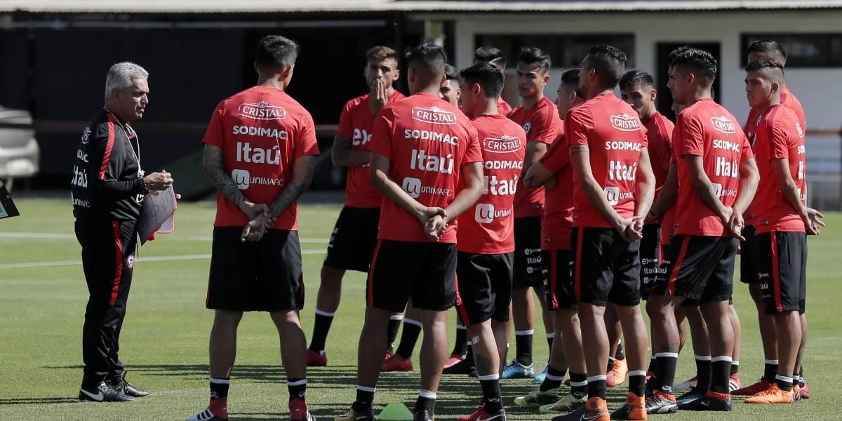 Comenzó la era del café en la Roja: Rueda dirigió su primera práctica al mando de la Selección