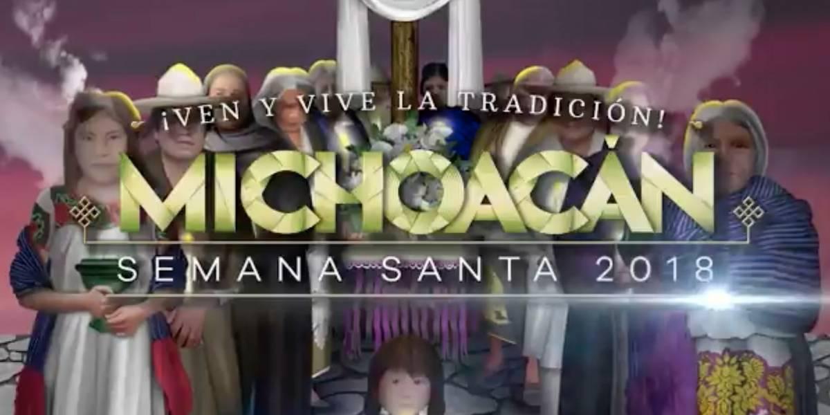 Michoacán espera recibir más de 600 mil turistas en Semana Santa